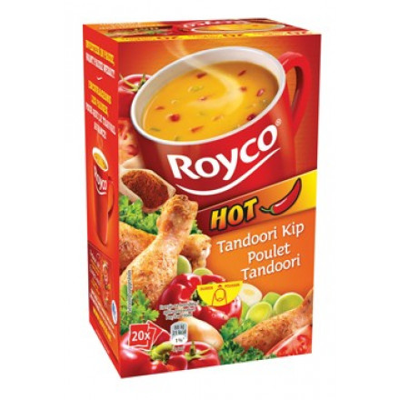Minute soep Royco tandoori kip (20)