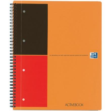 Spiraalboek Oxford International Activebook PP A4+ gelijnd 160blz