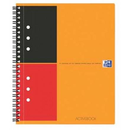Spiraalboek Oxford International Activebook PP A5+ gelijnd 160blz