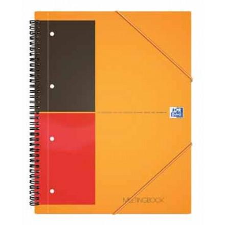 Spiraalboek Oxford International Meetingbook PP A5+ gelijnd 160blz
