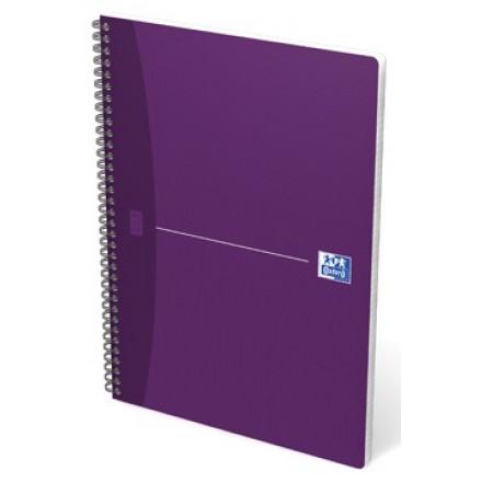 Spiraalschrift Oxford Office Essentials karton A4 geruit 100blz assorti