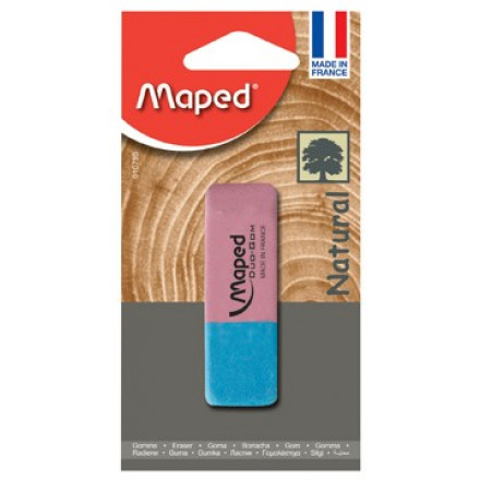 Gum Maped Duo large rood/blauw
