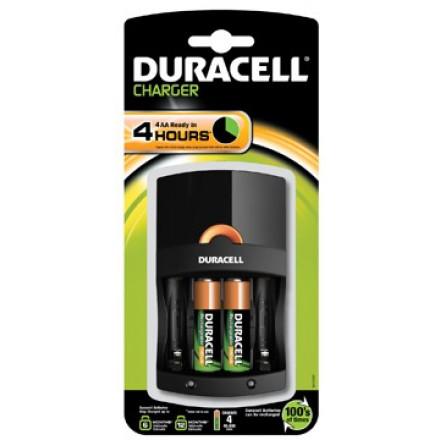 Batterijlader Duracell CE14 incl 2x AA & 2x AAA batterijen