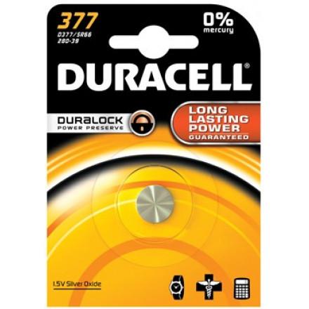 Knoopcelbatterij Duracell Duralock 337 1,5V