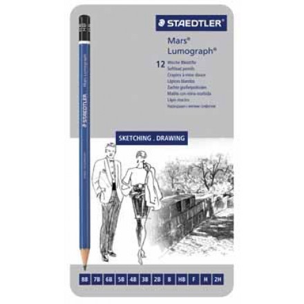 Potlood Staedtler mars lumograph ≠ hardheden (12)