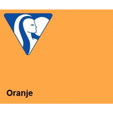 Clairefontaine DIN A4 160gr oranje (250) - FSC Mix credit