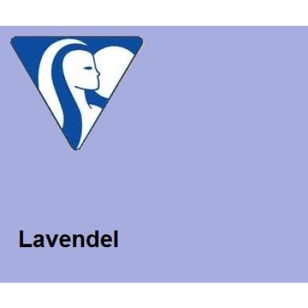 Clairefontaine DIN A4 160gr lavendel (250) - FSC Mix credit