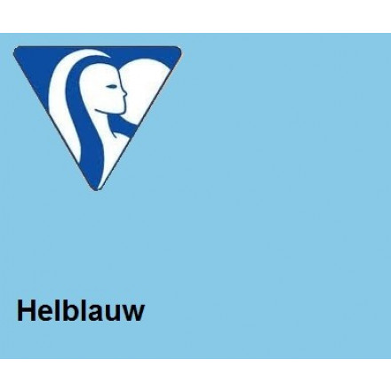 Clairefontaine DIN A4 160gr helblauw (250) - FSC Mix credit