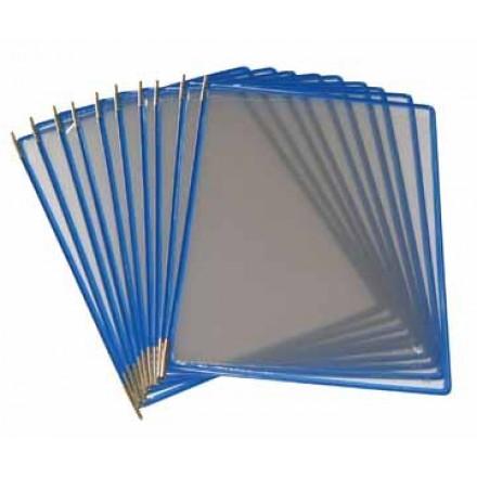 Tassen voor zichtpanelensysteem Tarifold T-display blauw (10)