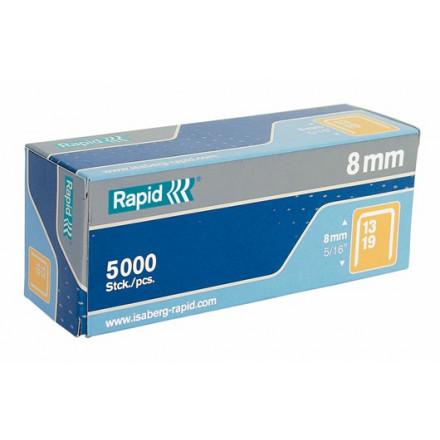 Nietjes Rapid High Performance No.13 8mm gegalvaniseerd (5000)