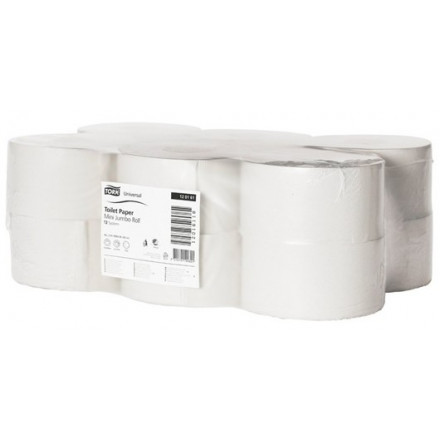 Toiletpapier Tork mini jumbo T2 2-laags (12)
