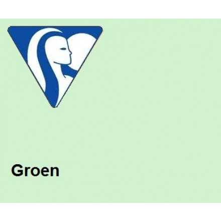 Clairefontaine DIN A4 120gr groen (250) - FSC Mix credit