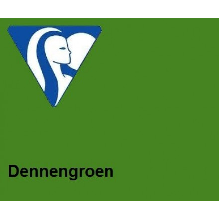 Clairefontaine DIN A4 120gr dennengroen (250)- FSC Mix credit