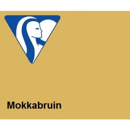 Clairefontaine DIN A4 120gr mokkabruin (250) - FSC Mix credit