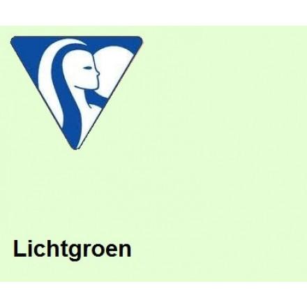 Clairefontaine DIN A4 120gr lichtgroen (250)- FSC Mix credit