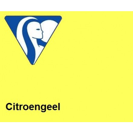Clairefontaine DIN A3 120gr citroengeel (250) - FSC Mix credit