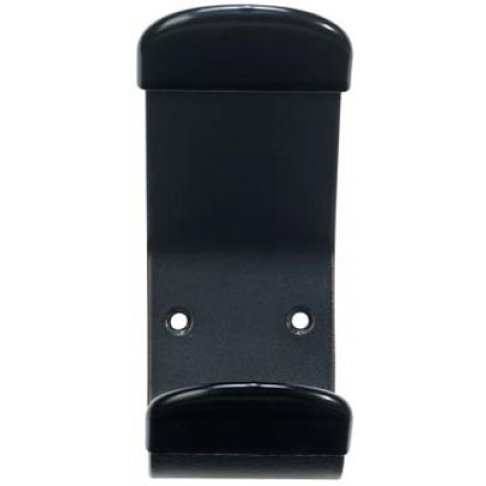 Unilux muurkapstok Steely, 1 haak, zwart