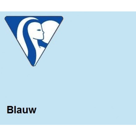 Clairefontaine DIN A3 120gr blauw (250) - FSC Mix credit