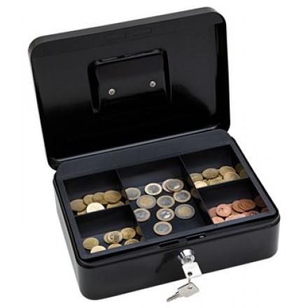 Geldkoffer Wedo 25x18x9cm zwart