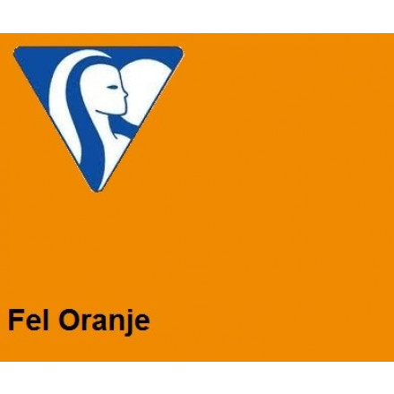 Clairefontaine DIN A4 210gr feloranje (250) - FSC Mix credit