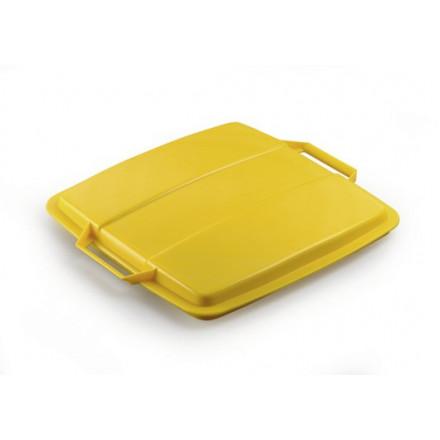 Deksel Durable Durabin LID 90 voor vuilnisbak 90l geel (8475030)