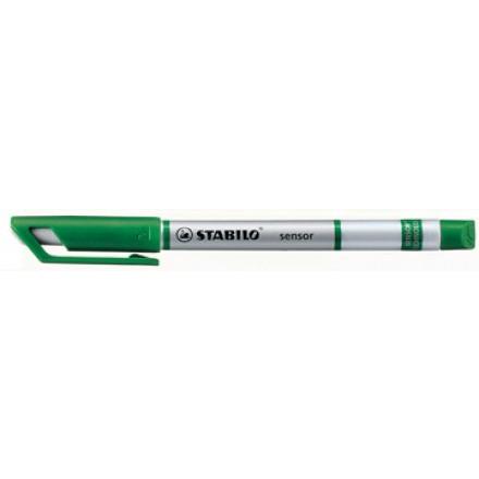 Fineliner Stabilo Sensor groen