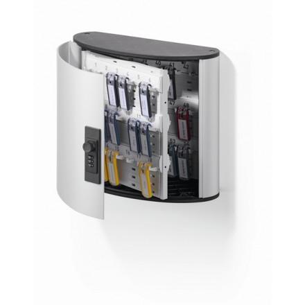 Sleutelkast Durable Key Box 54 sleutels met cijferslot metaal-zilver