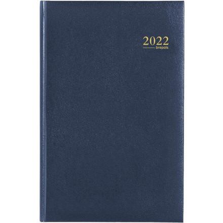 Agenda Brepols Saturnus Lima blauw 2020 1 dag/pagina