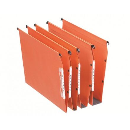 Hangmap Esselte Orgarex Dual Visicontrol karton A4 330mm V-bodem kast oranje (25)(2210200)