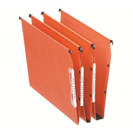 Hangmap Esselte Orgarex Dual Visicontrol karton A4 330mm 15mm bodem kast oranje (25)(2210300)