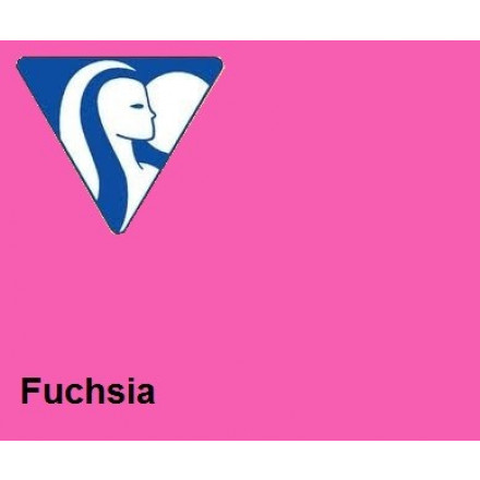 Clairefontaine DIN A4 210gr fuchsia (250) - FSC Mix credit