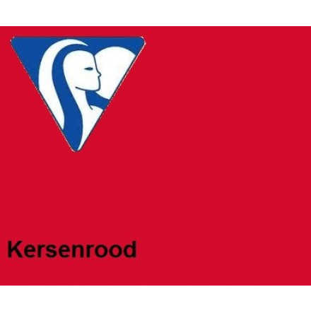 Clairefontaine DIN A4 210gr kersenrood (250) - FSC Mix credit