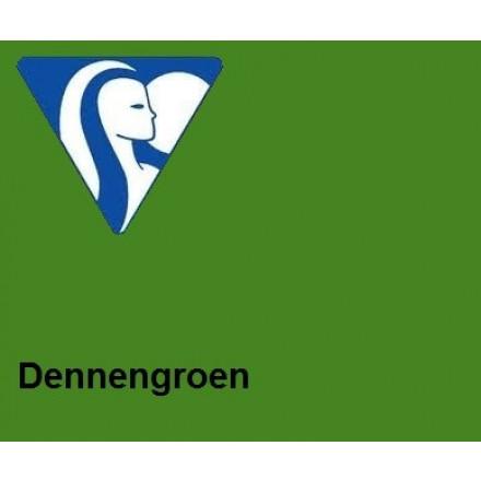 Clairefontaine DIN A4 210gr dennengroen (250) - FSC Mix credit