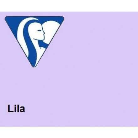 Clairefontaine DIN A4 210gr lila (250) - FSC Mix credit