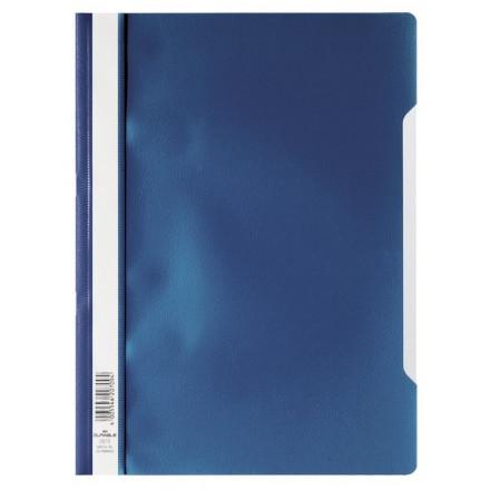 Snelhechtmap Durable PP A4 donkerblauw (50) (D257307)