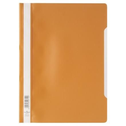 Snelhechtmap Durable PP A4 oranje (50) (D257309)