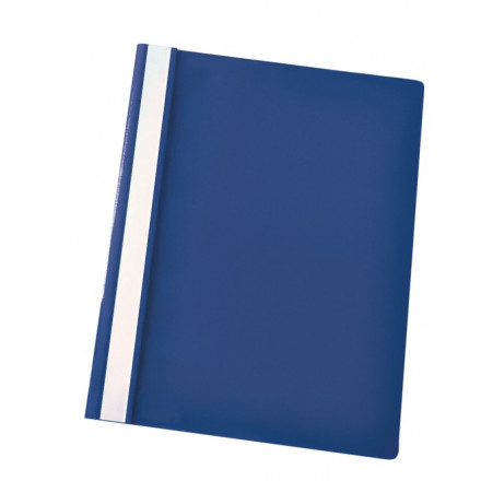 Snelhechtmap Esselte PP A4 donkerblauw (25)