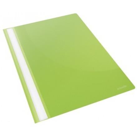 Snelhechtmap Esselte Vivida PP A4 groen (25)