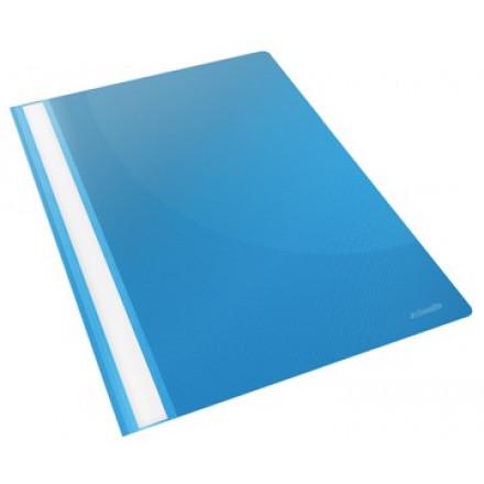 Snelhechtmap Esselte Vivida PP A4 blauw (25)