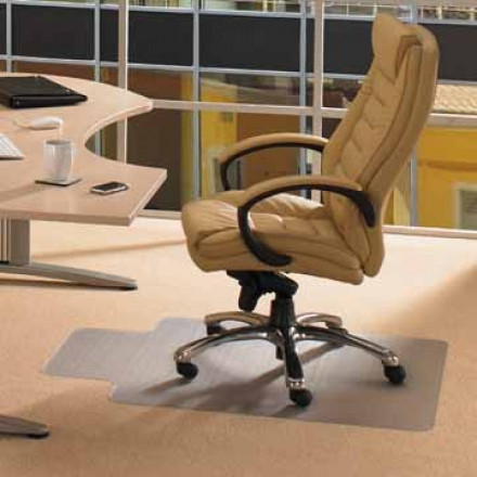 Vloermat Floortex Computex tapijt 120x90cm PVC met uitsparing