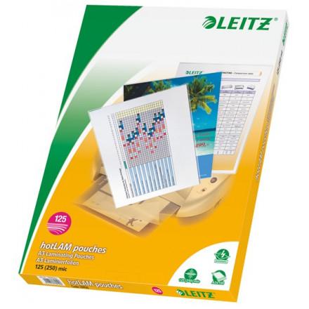 Lamineerhoes Leitz iLam A3 125µ glanzend (100)