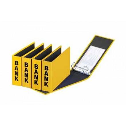 Bankringmap Pagna PP A6 2 ringen rug 5cm geel