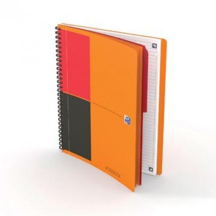 Spiraalboek Oxford International Activebook Connect hardcover B5 gelijnd 160blz