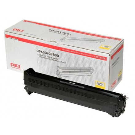 OKI col laser C9600/9800 drum YEL 42918105