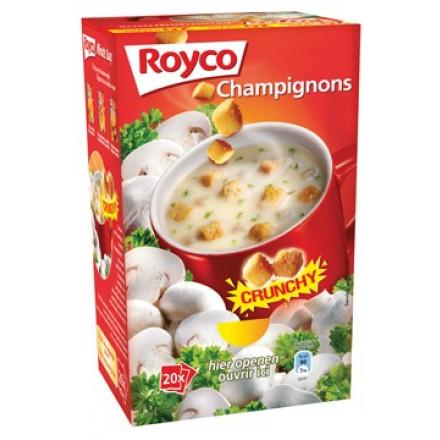 Minute soep Royco champignons/korstjes (20)