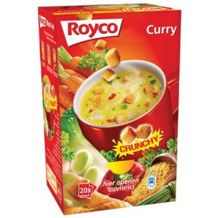 Minute soep Royco curry/korstjes (20)