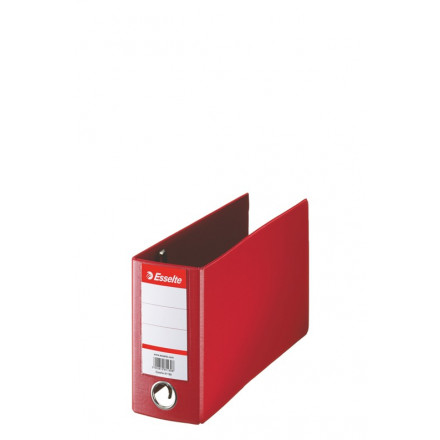 Bankordner Esselte karton 16x28 80mm rood (4709100)
