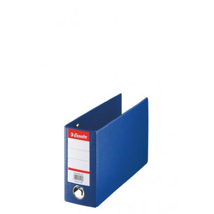 Bankordner Esselte karton 16x28 80mm blauw (4709200)