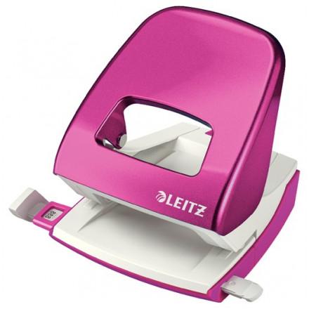 Perforator Leitz New NeXXt WOW 2-gaats 30vel roze metallic (5008223)