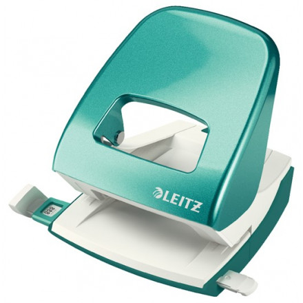Perforator Leitz New NeXXt WOW 2-gaats 30vel ijsblauw metallic (5008251)